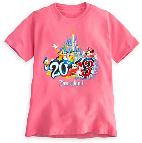 Disney Sorcerer Mickey Mouse Tee for Girls - Disneyland 2013