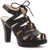 Naturalizer Kappa Ghillie Lace-Up Platform Sandal