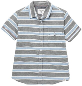 Sovereign Code Intermission Short Sleeve Stripe Print Shirt