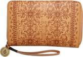 Volcom Dezert Mist Zip Wallet Brown