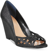 Style&Co. Style & Co. Cathiee Evening Wedge Pumps, Only at Macy's