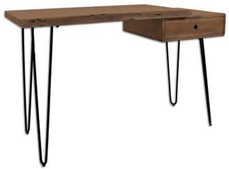 Foundry Select Amoret Solid Wood Desk Foundry Select Color: Slate
