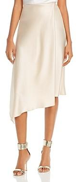 Alice + Olivia Jayla Asymmetric Midi Skirt
