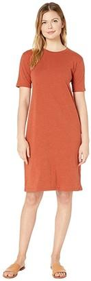 Pendleton Deschutes Tee Dress (Terra Cotta Heather) Women's Dress