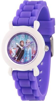 EWatchFactory Disney Frozen 2 Girls' Character Purple Strap Watch
