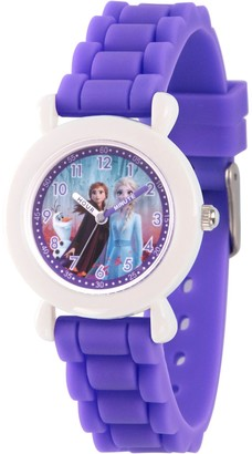 EWatchFactory Disney Frozen 2 Girls' Character Purple Strap Watch