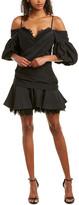 Acler Ashton Silk-Blend Sheath Dress