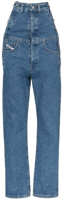 Diesel Red Tag Extended Rise Straight Leg Jeans