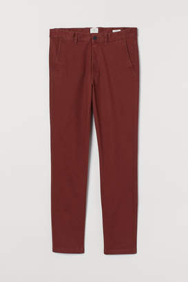 H&M Skinny Fit Cotton Chinos