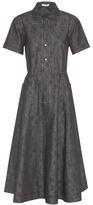 Tomas Maier Printed Denim Dress
