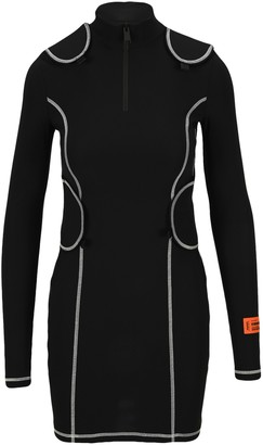 Heron Preston Long-Sleeve Bodycon Mini Dress