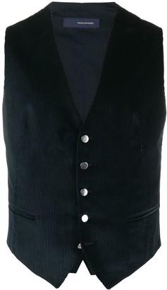 Tagliatore Single-Breasted Fitted Waistcoat