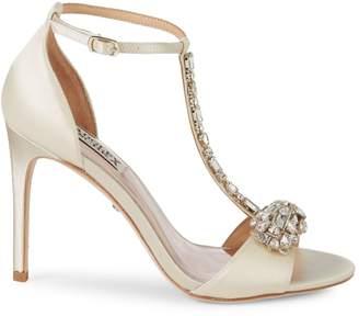 Badgley Mischka Pascale Crystal Embellished Sandals