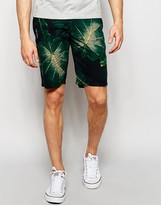 Lindbergh Chino Shorts With Floral Print