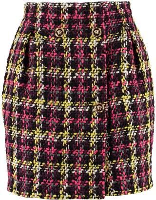 Versace Tweed Mini-skirt