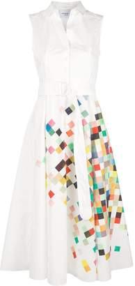 Akris Punto square print dress