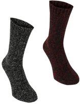 Firetrap Mens Boot Socks Box Lightweight Knitted Elasticated Marl Casual