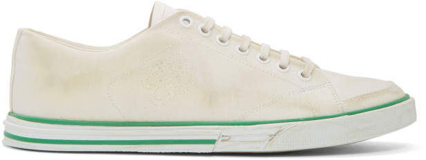 Balenciaga White Match Low Sneakers