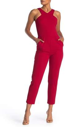 Love...Ady V-Neck Straight Leg Jumpsuit