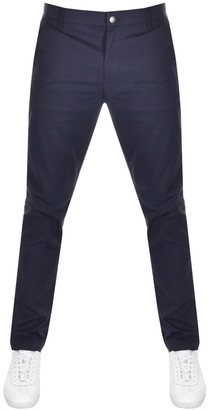 Calvin Klein Jeans Slim Fit Chino Trousers Navy