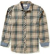 Billabong Fremont Plaid Long-Sleeve Stretch Flannel Shirt