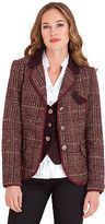Joe Browns Women's Checked Fitted Blazer Jacket