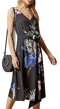 Ted Baker Trinni Belted Asymmetric Dress