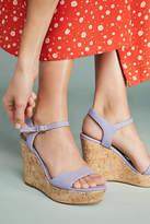Anthropologie Platform Wedge Sandals