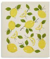 Sur La Table Lemon Swedish Dishcloths, Set of 2