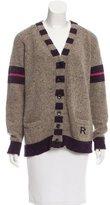 Rochas Wool Striped Cardigan