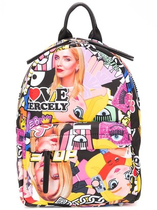Chiara Ferragni small collage print backpack