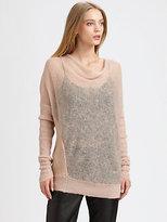 By Malene Birger Semi-Sheer Cowlneck Sweater