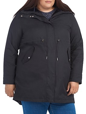 Barbour Plus Perthshire Faux Fur Lined Hooded Coat