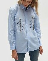 Rowers Shirt in Light Blue
