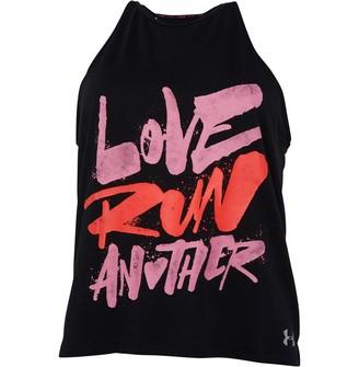 Under Armour Womens Love Run Another Running Tank Black