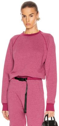 John Elliott Vintage Fleece Crew Sweatshirt in Lambrusco | FWRD