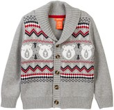 Joe Fresh Shawl Collar Cardigan (Toddler & Little Boys)
