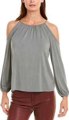 Krisa Cold-Shoulder Top