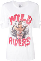 Zoe Karssen 'wild riders' print T-shirt - women - Cotton - XS