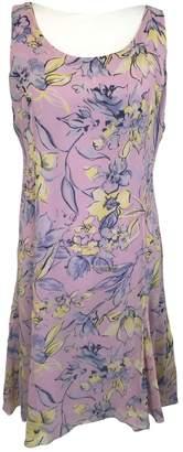 Bob Mackie \N Pink Silk Dress for Women
