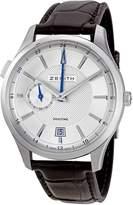Zenith Men's 03.2130.682/02.C498 Captain Dual Time Dial Watch