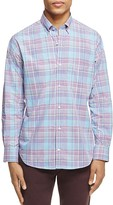 Tailorbyrd Fir Plaid Classic Fit Button-Down Shirt
