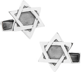 Ravi Ratan Men's Sterling Star of David Cufflinks