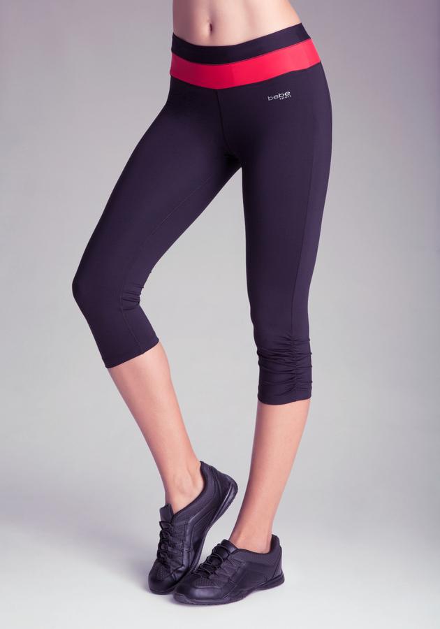 Bebe Cropped Running Pants