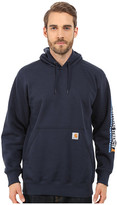 Carhartt Rain DefenderTM Paxton Heavyweight Hooded Sleeve Graphic Sweatshirt