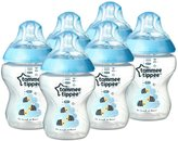 Tommee Tippee Closer To Nature 6 Pack Feeding Bottles