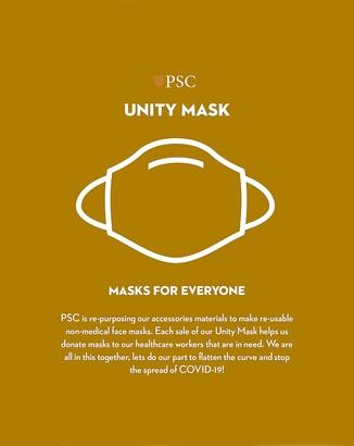 Express Pocket Square Clothing Blue Stripe Unity Face Mask