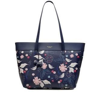 Radley Painterly Floral Large Zip-Top Tote Bag
