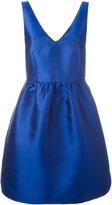 P.A.R.O.S.H. flared sleeveless dress - women - Silk/Polyester/Acetate/Viscose - S