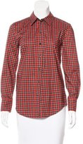 Marc Jacobs Houndstooth Long Sleeve Shirt
